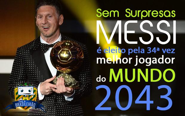 Messi melhor jogador do mundo pela 34ª vez