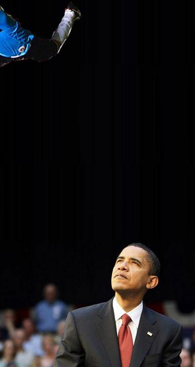 Rogério Ceni e Obama