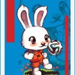 MIFFY - A coelhinha foi criada como personagem de livros infantis pelo holandês Dick Bruna em 1955.
